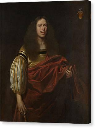 Limburg Canvas Print - Portrait Of Johan Servaes Van Limburg, Dean Of The Chapter by Litz Collection