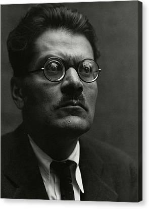 Portrait Of Jose Clemente Orozco Canvas Print by Edward Weston