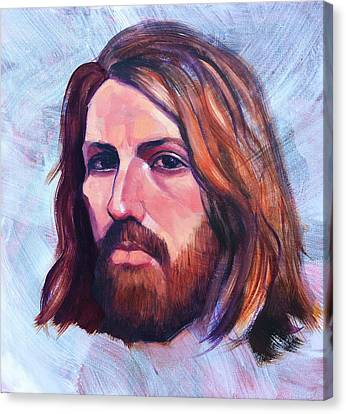 Portrait Of Joseph Two Canvas Print by Roz McQuillan