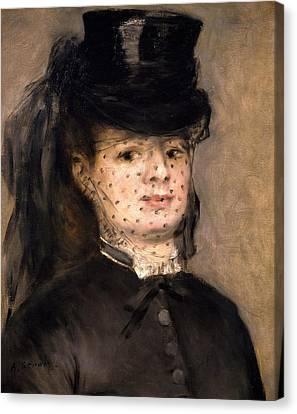 Portrait Of Madame Paul Darras Canvas Print