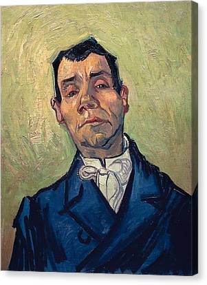 Portrait Of Man Canvas Print by Vincent van Gogh