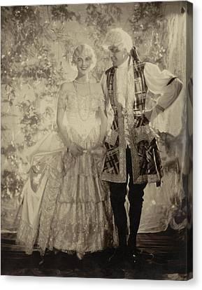 Portrait Of Mrs. Cornelius Vanderbilt Whitney Canvas Print