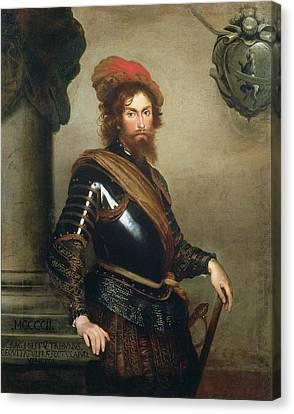 Portrait Of Nicolo Raggi Canvas Print