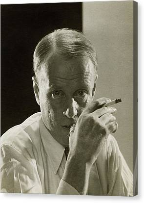 Portrait Of Novelist Sinclair Lewis Canvas Print by Edward Steichen