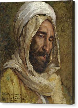 Jihad Canvas Print - Portrait Of Osman Hamdy Bey by Celestial Images
