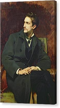 Portrait Of Robert Count Of Montesquiou-fezensac Canvas Print