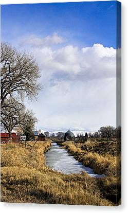 Portrait Of Rural Colorado Canvas Print