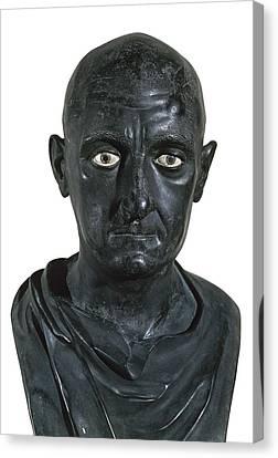 Portrait Of Scipio Africanus The Elder Canvas Print