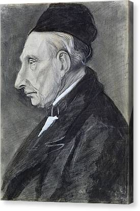 Cap Canvas Print - Portrait Of The Artists Grandfather by Vincent Van Gogh