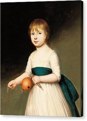 Portrait Of Thomas Allason Canvas Print