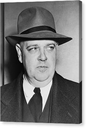 Portrait Of Whittaker Chambers Canvas Print