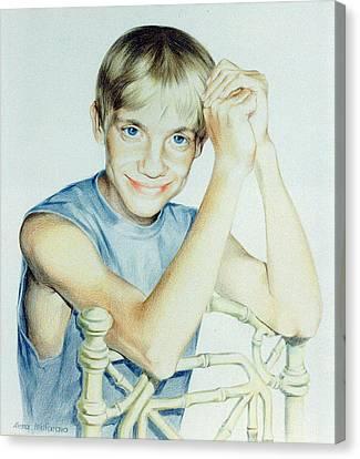 Portrait Of Yury Canvas Print