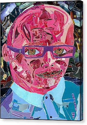 Portraiture Of Passion Canvas Print by Kenneth James