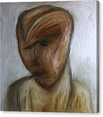 Portret Canvas Print by Stefan Hermannsson