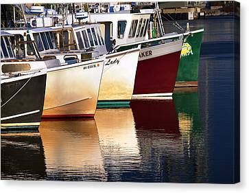 Portsmouth Fishing Fleet Canvas Print