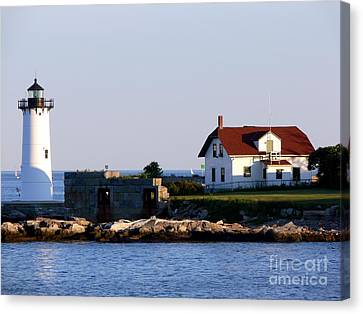 Portsmouth Harbor Light Canvas Print