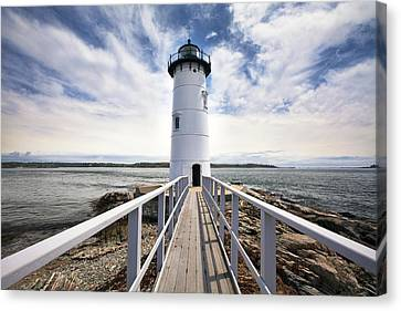 Portsmouth Harbor Lighthouse Canvas Print