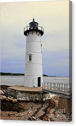 William And Mary Canvas Print - Portsmouth Harbor Lighthouse by K Hines