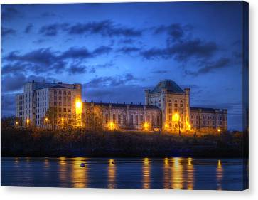 Prime Canvas Print - Portsmouth Naval Prison by Eric Gendron