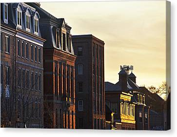 Portsmouth Rooftops Canvas Print