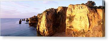 Portugal, Algarve Region, Coastline Canvas Print