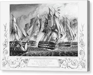 Portugal Battle, 1833 Canvas Print by Granger