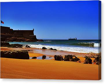 Portuguese Coast Canvas Print by Marco Oliveira