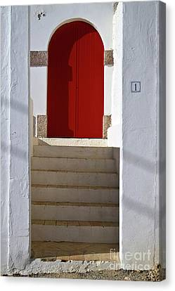 Portuguese Entrance Canvas Print by Heiko Koehrer-Wagner