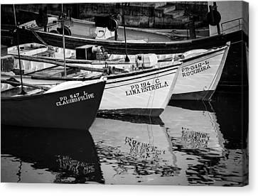 Portuguese Fishing Boats Canvas Print