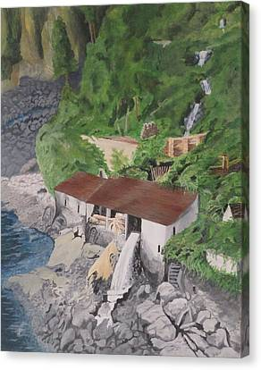 Portuguese Sawmill Canvas Print by Hilda and Jose Garrancho