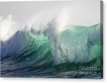 Portuguese Sea Surf Canvas Print by Heiko Koehrer-Wagner