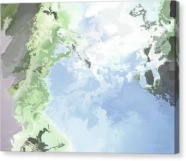 Poseidon Enosichthon Canvas Print