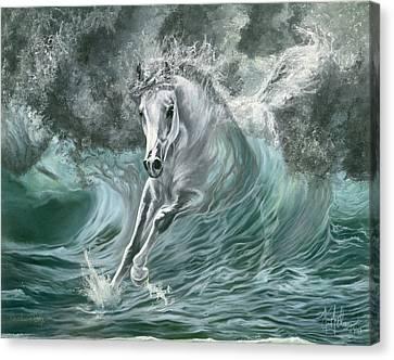 Poseidon's Gift Canvas Print