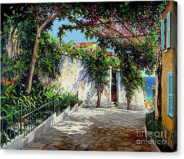 Positano  Canvas Print by Michael Swanson