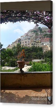 Positano - View Canvas Print