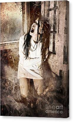 Possessed Canvas Print by Jt PhotoDesign