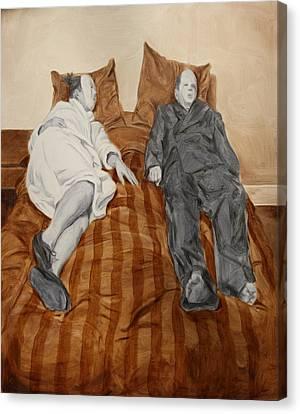 Post Modern Intimacy II Canvas Print by Alison Schmidt Carson