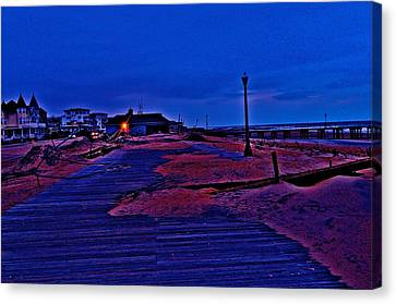 Post Sandy Effects Canvas Print by Joe  Burns