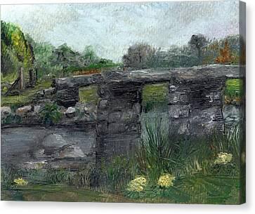 Postbridge Dartmoor Canvas Print by Carol Rowland