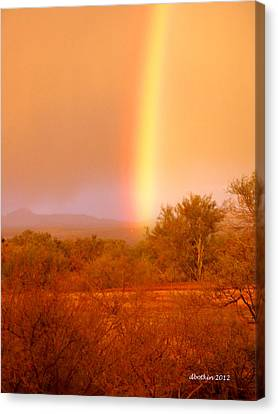 Pot O Gold Canvas Print by Dick Botkin