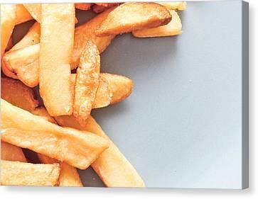 Potato Chips Canvas Print