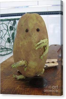 Potato Man Canvas Print