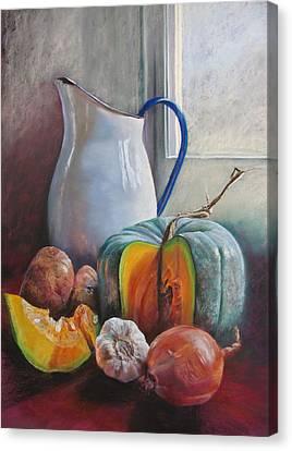 Potential Pumpkin Soup Canvas Print by Lynda Robinson