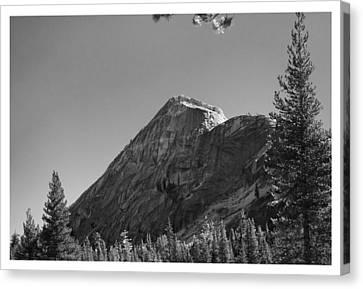 Pothole Dome In Yosemite Canvas Print