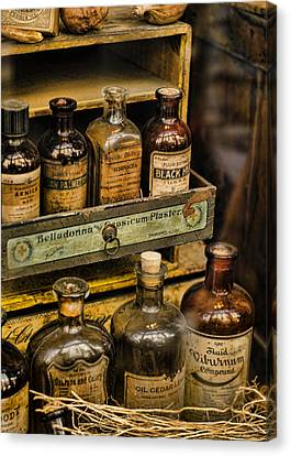 Potions And Cure Alls Canvas Print