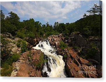 Potomac River Great Falls Canvas Print
