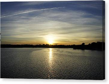 Potomac Sunset Canvas Print