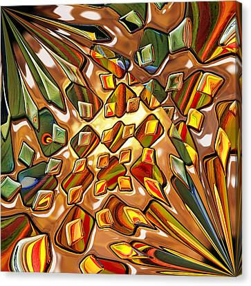 Gloss Canvas Print - Potpourri - For Metallic Paper by Wendy J St Christopher