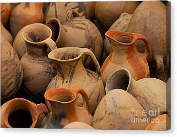 Pots And Pitchers Canvas Print by Richard and Ellen Thane