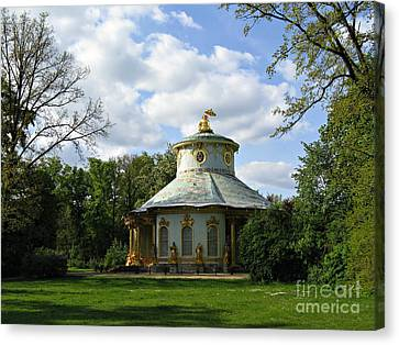 Potsdam The Chinese House Canvas Print by Kiril Stanchev